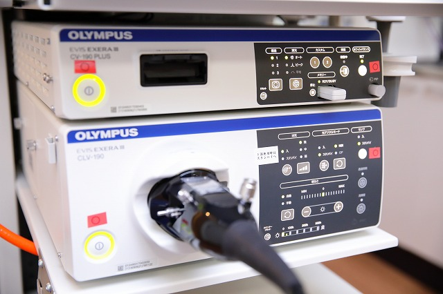 大学病院レベルの内視鏡システム導入